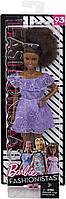 Кукла Barbie Fashionistas Модница Афро-брюнетка Темнокожая FJF53, фото 7