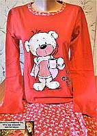 Пижама подросток для девушки Турция  Кофе 14, 15, 16, 17, 18 лет