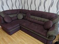 Перетяжка углового дивана г.Днепр