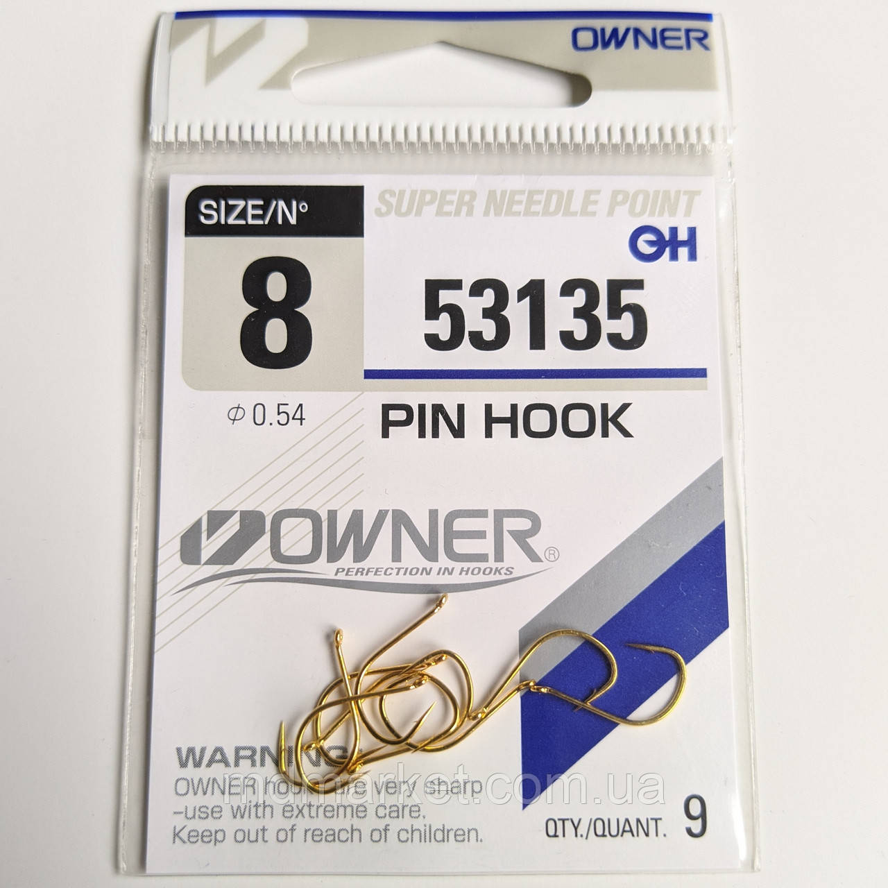 Крючки Owner Pin Hook 53135 №8