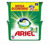 Капсулы для стирки универсального белья Ariel Pods 3 в 1 70 шт, фото 1