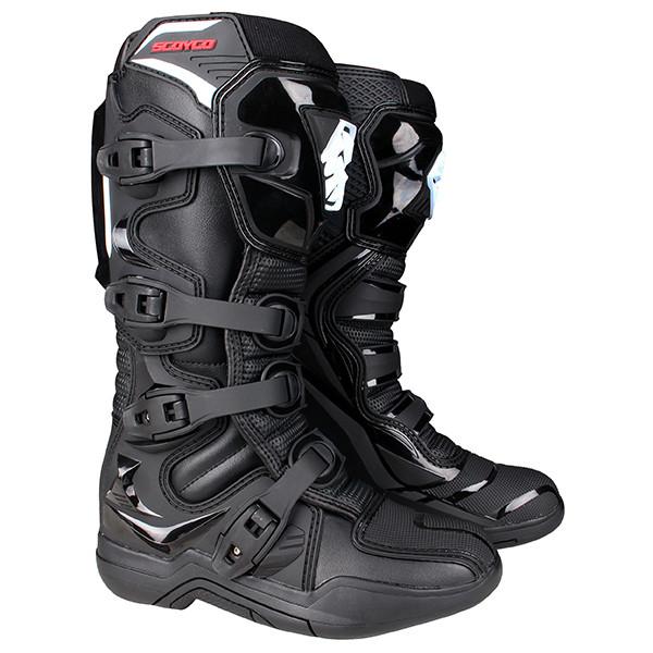 Кроссовые ботинки SCOYCO MBM003 Adventure Black