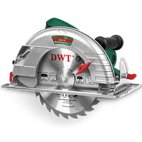 Пила дисковая ручная циркулярная DWT HKS21-79, 2100 Вт, 4300 об/мин, диск 235 мм, глубина реза 79 мм