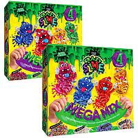 Лизун своими руками Crazy Slime 4в1   Diy Slime Danko Toys
