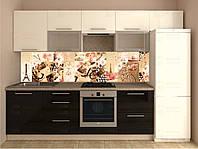 Кухонный фартук скинали (наклейка, ПВХ пластик, металопластик)