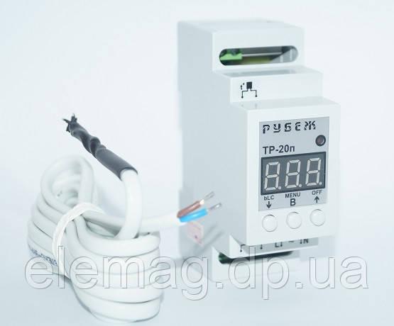 4,4 кВт цифровий Терморегулятор 20 Ампер, Рубіж