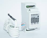 4,4 кВт цифровий Терморегулятор 20 Ампер, Рубіж, фото 1
