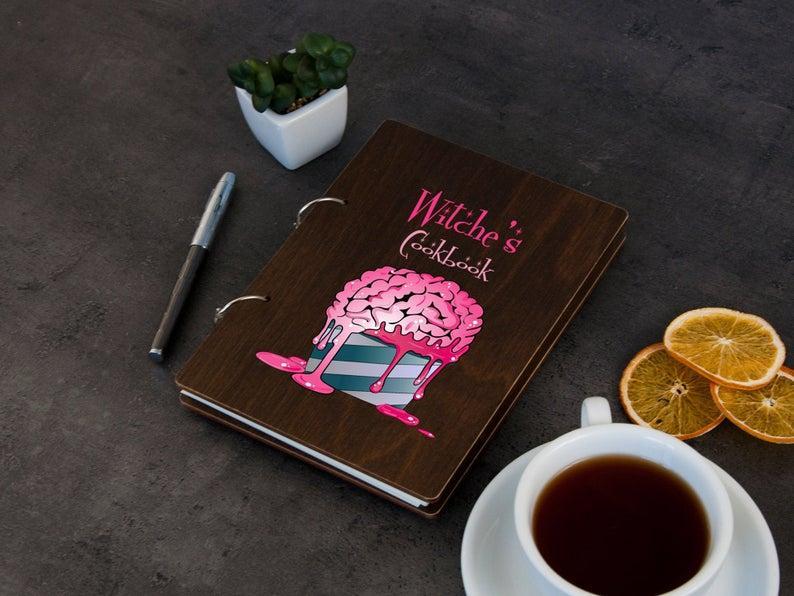 Купить Книга для записи рецептов «Ведьмины рецепты», собств