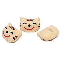 Заготовка для Бизиборда Плюшевый Котик  4 см Кошечка Мягкое Украшение Кішечка для бізіборда