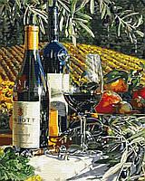 Картина по Номерам За ужином 40х50см RainbowArt