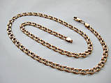 Золотий ланцюг Б/У Бісмарк 24.01 грама 55 див. Золото 585 проби, фото 5