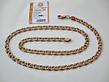 Золотий ланцюг Б/У Бісмарк 24.01 грама 55 див. Золото 585 проби, фото 2