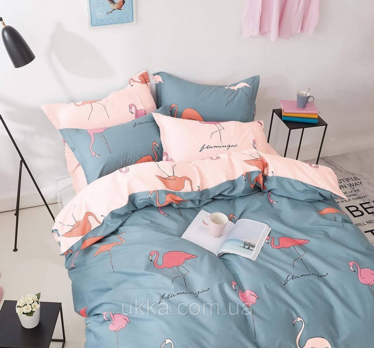 Двуспальное постельное белье хлопковое 19007 Вилюта