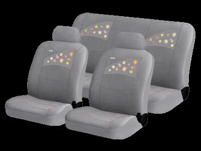 Чехлы для автомобильных сидений Hadar Rosen BEETLES Серый 10223