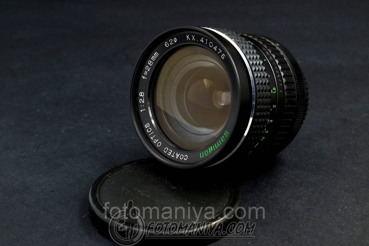 Samigon 28mm f2.8 for Canon FD
