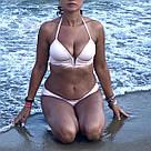 Victoria's Secret PINK Роздільний Купальник Пуш-Ап р. S, Пудровий, фото 3