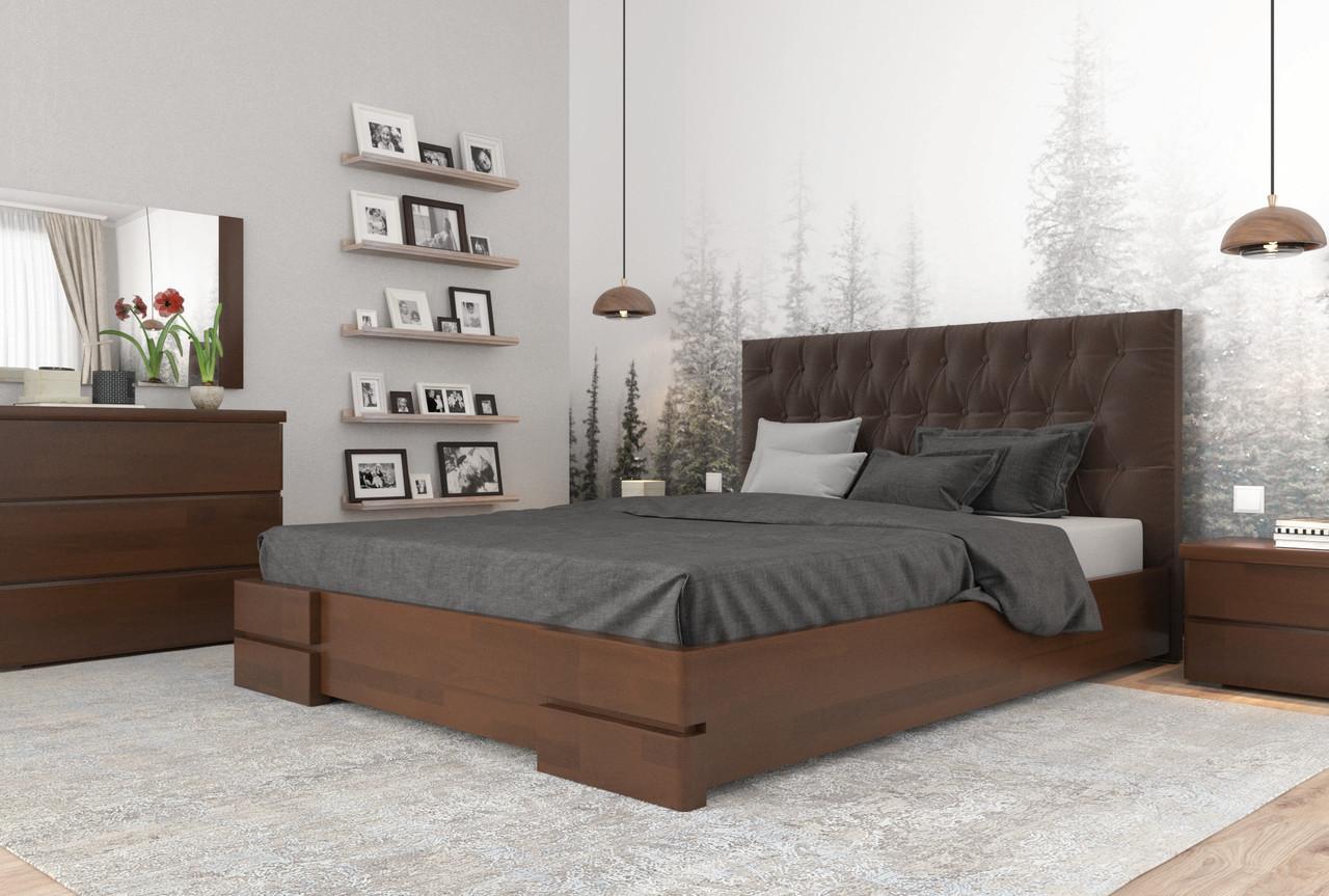 Кровать Камелия Ромб двухспальная без механизма  ТМ Arbor Drev