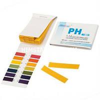Лакмусовий папір (pH-тест) 1-14 рН, 80 смужок