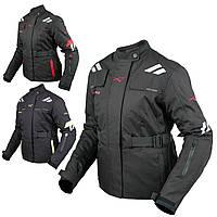Женская куртка Мотоцикла Водонепроницаемый Ткани Защиты CE Путешествие Touring