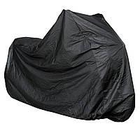 Накрыть Мотоцикл Скутер Custom Naked Водонепроницаемый ПВХ Универсальный Черный XL
