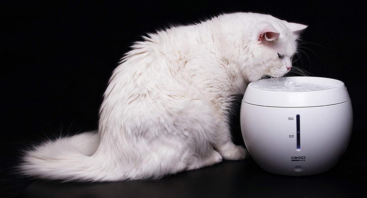 Умная поилка-фонтан для собак и котов CROCI, 2л, 22х17см