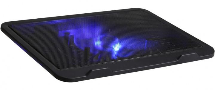 """Охлаждающая подставка для ноутбука до 17"""" DCX-019 с подсветкой"""