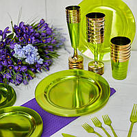 Одноразовая посуда тарелки 6 шт 260 мм  оптом от производителя для ресторанов, кейтеринга, хореки CFP, фото 1