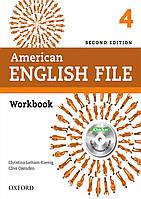 American English File 4 Workbook (2nd edition)