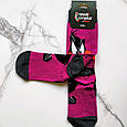 Шкарпетки високі з принтом Даффі Дак розмір 37-43, фото 2