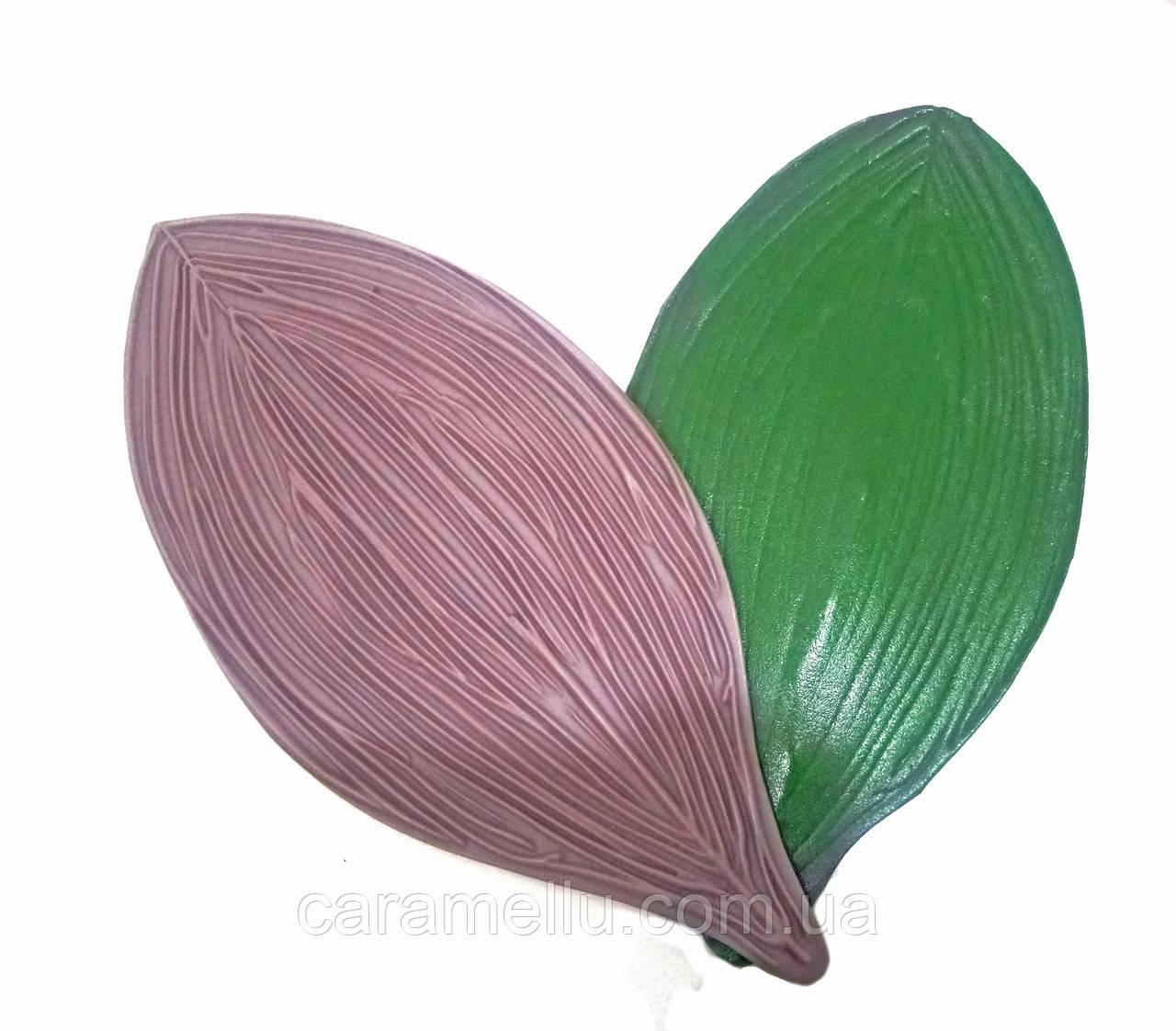 Молд Лист Орхідеї універсальний, 37х17,5см