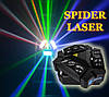 Светодиодный прибор 2в1 Spider moving head 9x10 RGBW laser RG, фото 2