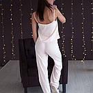 Піжама жіноча бузок. Штани і майка, фото 4