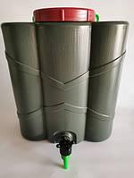 Рукомойник (умывальник) пластиковый с краном 20 л (34х18х41 см) Консенсус OST-1349