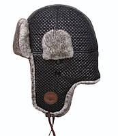 Оригинальная шапка Top Gun Quilted Winter Hat TGH1500 (Black), фото 1