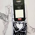 Носки высокие с принтом Скелет Джек размер 37-43, фото 5