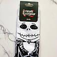 Носки высокие с принтом Скелет Джек размер 37-43, фото 4