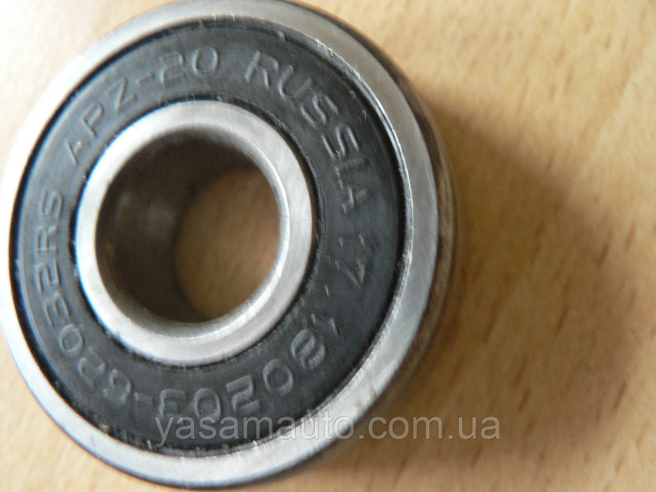 Подшипник 180203 - 6203 2RS шариковый закрытый D=42мм d=15мм h=13мм Россия АПЗ 20