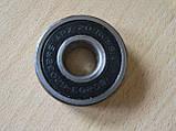 Подшипник 180203 - 6203 2RS шариковый закрытый D=42мм d=15мм h=13мм Россия АПЗ 20, фото 2