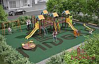 Комплексный детский городок