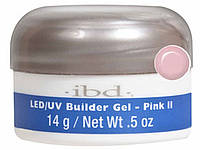 IBD LED/UV Builder Gel Pink II 14г - конструирующий камуфлирующий розовый гель. Холодный отеенок