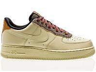 Nike AIR FORCE 1 07 LV8 4 Оригинальные бежевые кроссовки мужская обувь больших размеров CK4363-200