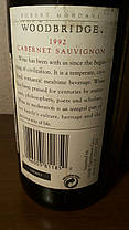 Вино 1992 года Cabernet Sauvignon California США винтаж, фото 3