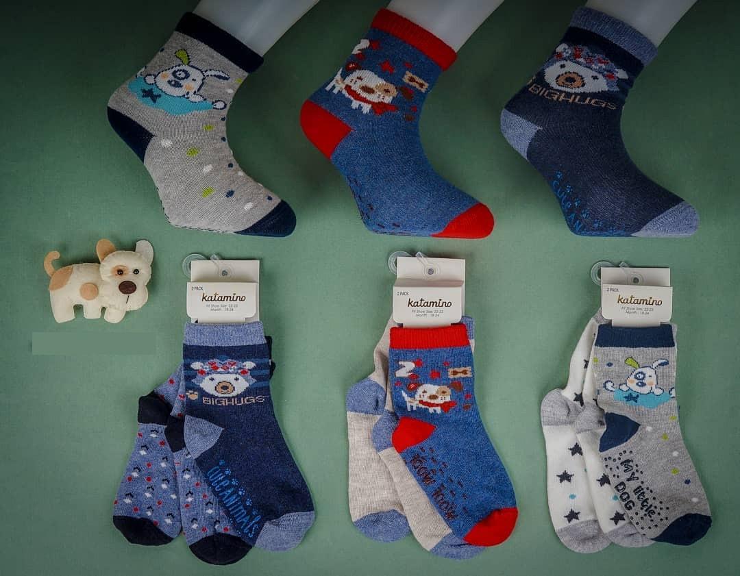 Хлопковые носки для малышей 6-12 мес ТМ Katamino 64896129731575