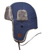 Оригинальная шапка Top Gun Quilted Winter Hat TGH1500 (Navy), фото 1