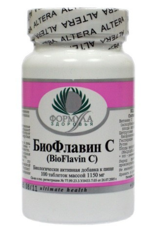 Биофлавин С, 90 таб Альтера