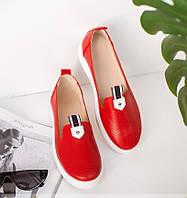 Летние кожаные женские туфли 36-40р