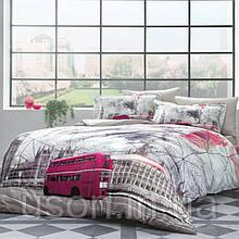 Комплект постельного белья сатин премиум TM Tivolyo Home LONDON