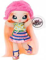 Оригинал! Мягкая кукла Na! Na! Na! Surprise 2-in-1 обезьянка Нина Наннерс от  MGA.