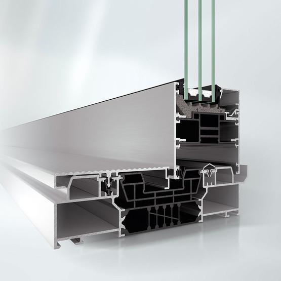 Раздвижная и подъемно-раздвижная система Schüco ASE 80.HI