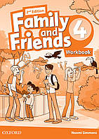 Family and Friends 4 Workbook (2nd edition)